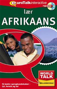World talk.  Afrikaans
