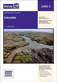 Imray chart 2400.5 - salcombe