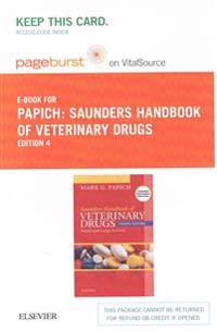 Saunders Handbook of Veterinary Drugs Pageburst E-book on Vitalsource Retail Access Card