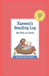 Kareem's Reading Log
