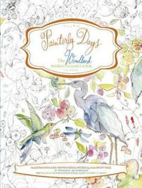 The Woodland Watercoloring Book for Adults