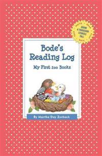 Bode's Reading Log