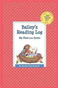 Bailey's Reading Log