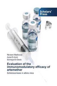 Evaluation of the Immunomodulatory Efficacy of Artemether