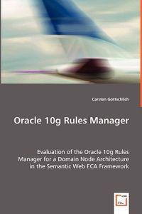Oracle 10g Rules Manager