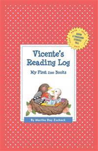 Vicente's Reading Log - Martha Day Zschock - böcker (9781516241040)     Bokhandel