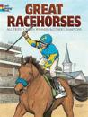 Great Racehorses Coloring Book