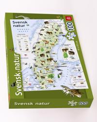 Svensk natur pussel 100 bitar