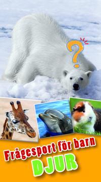 Frågesport för barn : djur