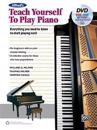 Alfred's Teach Yourself to Play Piano: Everything You Need to Know to Start Playing Now!, Book, DVD & Online Audio, Video & Software
