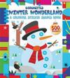 Winter Wonderland: A Colorful Sticker Shapes Book
