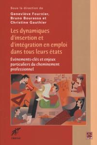 Dynamiques d'insertion et d'integration en emploi dans ...