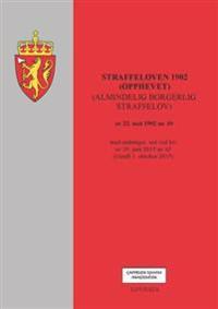Straffeloven 1902 (opphevet) (almindelig borgerlig straffelov) av 22. mai 1902 nr. 10 -  pdf epub