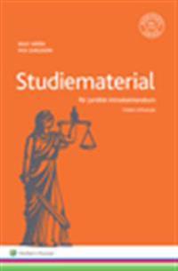 Studiematerial för juridisk introduktionskurs