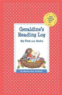 Geraldine's Reading Log