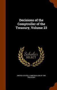 Decisions of the Comptroller of the Treasury, Volume 23