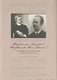 Högtärade Maestro! Högtärade Herr Baron! Korrespondensen mellan Axel Carpel -  pdf epub