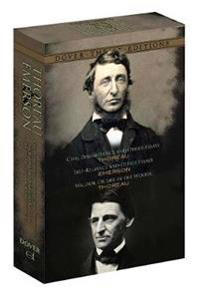 Thoreau and Emerson Classic Works