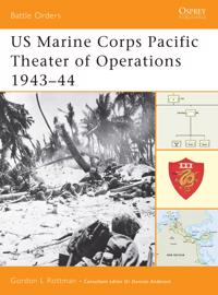 Us Marine Corps Pacific Theater Of Operations, 1943-44