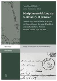 "Disziplinentwicklung als ""community of practice"""