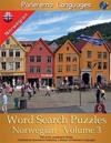 Parleremo Languages Word Search Puzzles Norwegian - Volume 3