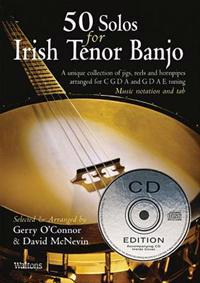 50 Solos for Irish Tenor Banjo [With CD]