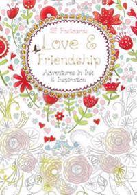 Love & Friendship Postcard Book