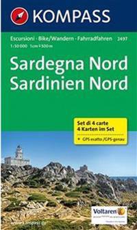 Sardegna Nord - Sardinien Nord 1:50 000