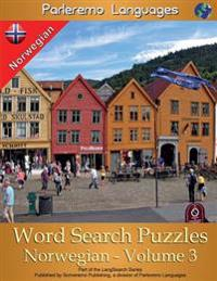 Parleremo Languages Word Search Puzzles Norwegian - Volume 3