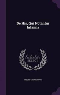 de His, Qui Notantur Infamia