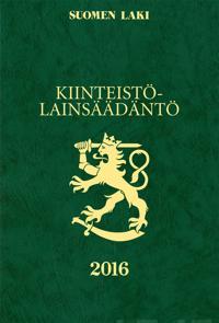 Kiinteistölainsäädäntö 2016