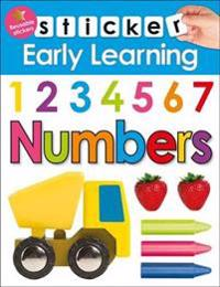 Numbers - sticker early learning