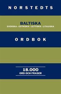 Norstedts baltiska ordbok : Svenska-estniska-lettiska-litauiska