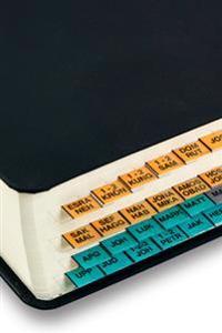 U-TAB Bibel-Index orange-grå-grön, GT, NT och Apokryferna