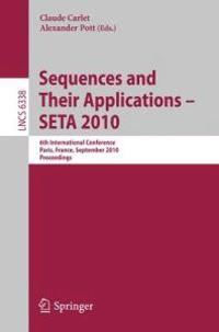 Sequences and Their Applications - SETA 2010