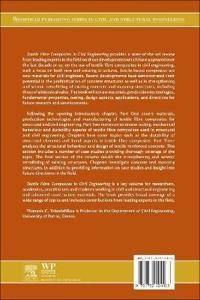 Textile Fibre Composites in Civil Engineering