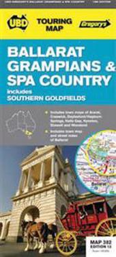 Ballarat, Grampians & Spa Country 1 : 25 000