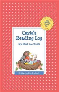 Cayla's Reading Log