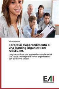 I Processi D'Apprendimento Di Una Learning Organization