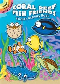 Coral Reef Fish Friends Sticker Activity Book