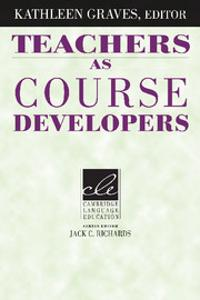 Teachers as Course Developers