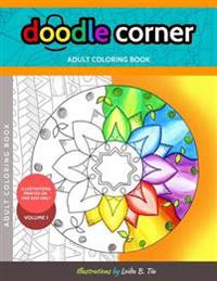 Doodle Corner Adult Coloring Book, Volume 1
