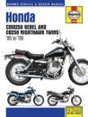 Honda CMX250 Rebel and CB250 Nighthawk Twins '85-'14