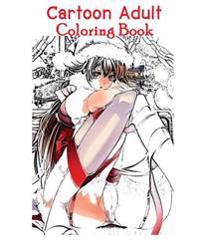 Cartoon Adult Coloring Book: Adult Coloring, Adult Book (Volume 1)
