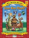 Can You Find? (We Both Read - Level Pk-K): An ABC Book