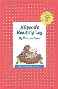 Allyson's Reading Log