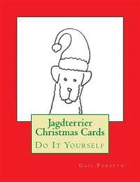 Jagdterrier Christmas Cards: Do It Yourself