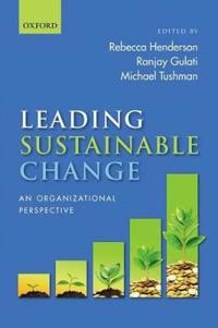 Leading Sustainable Change