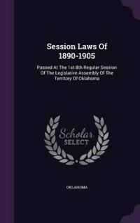 Session Laws of 1890-1905