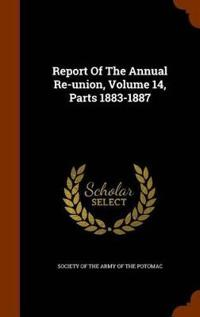 Report of the Annual Re-Union, Volume 14, Parts 1883-1887